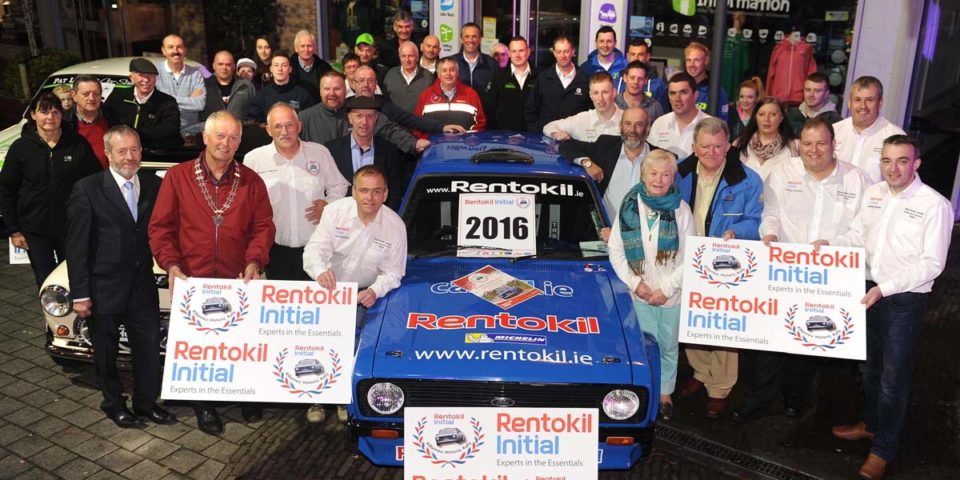 Historic Rally 16 launch 17