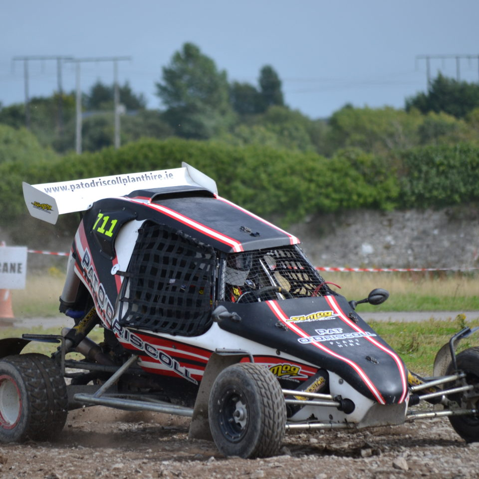 Overall Winner Pat O'Driscoll in his Semog Buggy